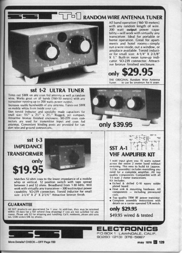 SST Tuner 1978