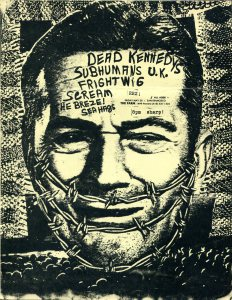 Dead Kennedys, Subhumans (UK), Frightwig, Scream, The Breze, and Sea Hags at The Farm