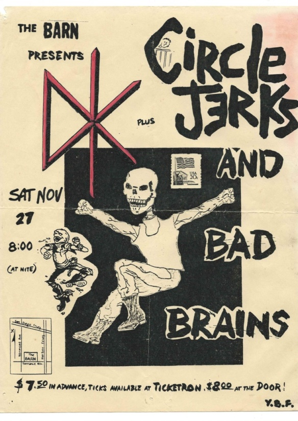 DK and The Circle Jerks