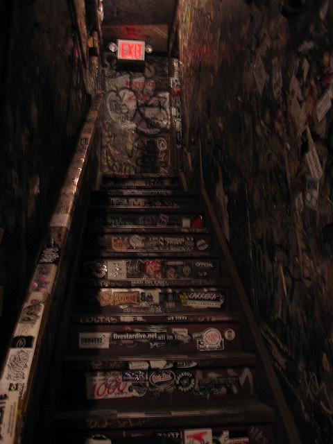 CBGB Stairs