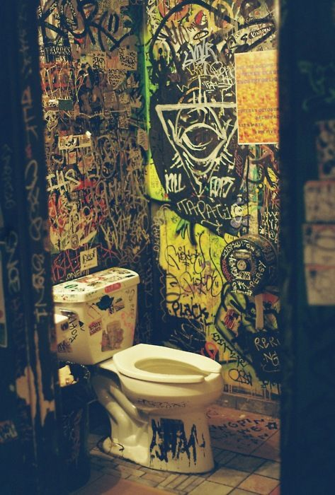 CBGB Toilet