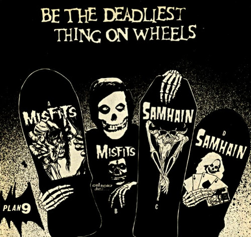 Misfits and Samhain Skateboards