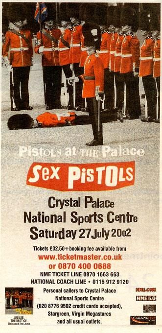 Sex Pistols Advert