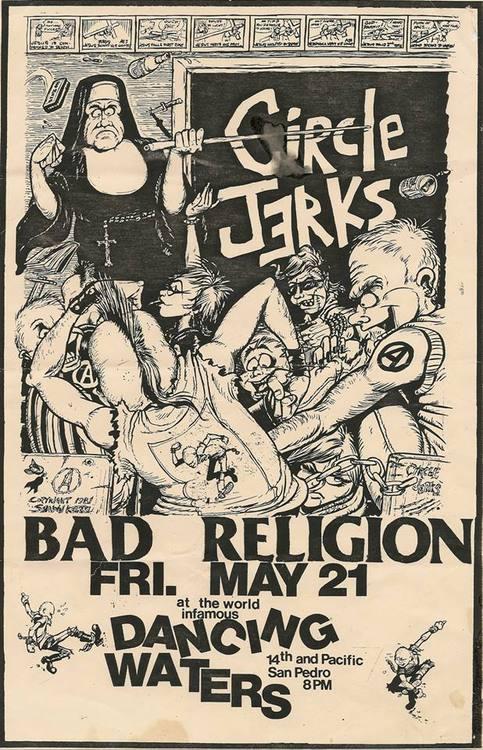 Circle Jerks Flyer
