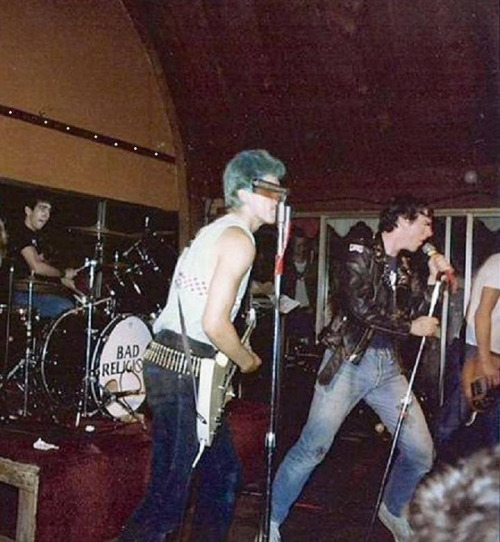 Bad Religion 1982 opening for The Dead Kennedys