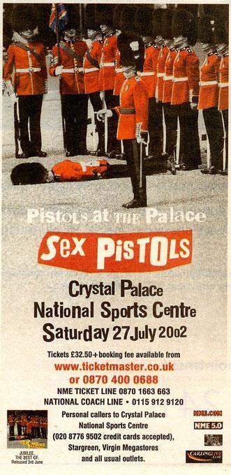 Sex Pistols Advert